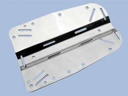 Backplate nerez 3mm