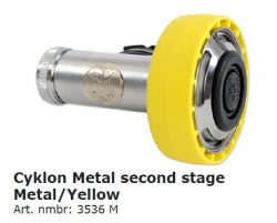 Poseidon Cyklon 5000 Metal, Yellow